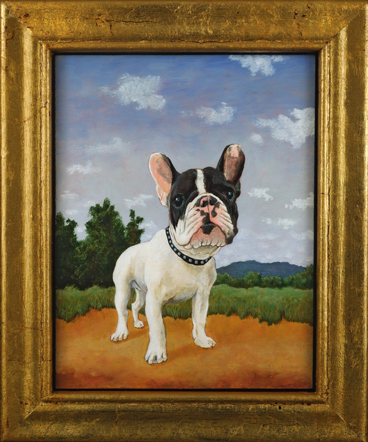 , 'French Bulldog in Landscape,' 2014, Alida Anderson Art Projects