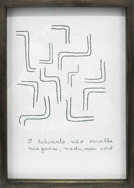 , 'Labirinto,' 2016, Galeria Lume