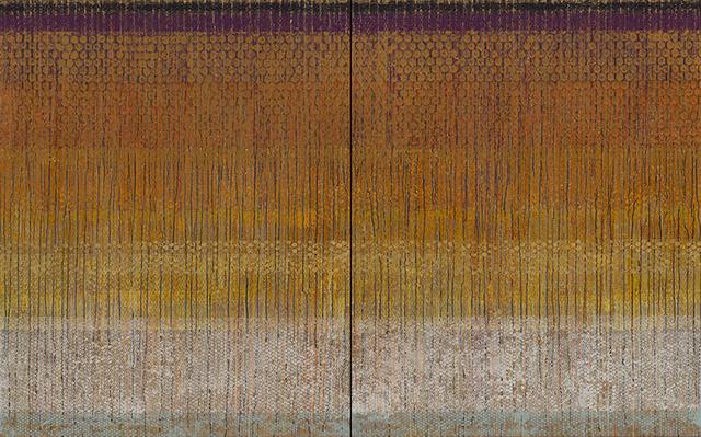 """, '""""Indian"""", Diptyque,' 2015, Galerie Dutko"""