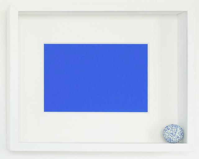 , 'Thesis (Blue),' 2017, Galería del Paseo
