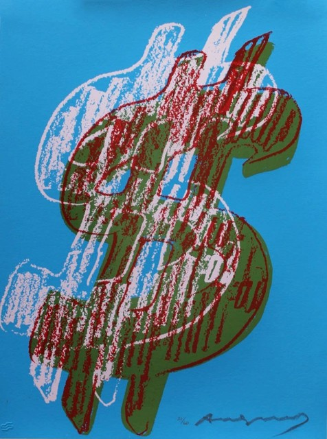 , '$ Dollar Sign,' 1982, OSME Gallery