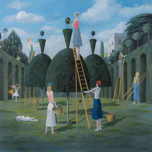 , 'Ballet Garden I,' 2018, Catto Gallery