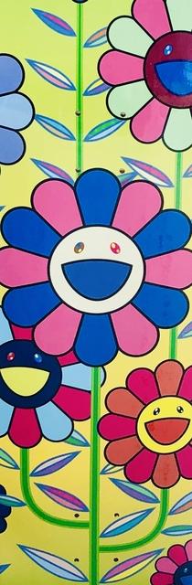 Takashi Murakami, 'Takashi Murakami Flowers skateboard deck ', 2019, Lot 180