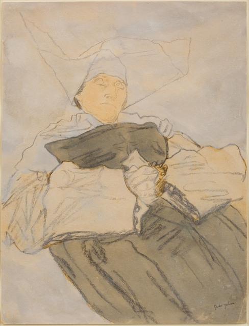 , 'Sleeping Nun,' 1916-1918, Piano Nobile
