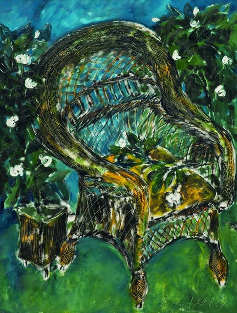 SRĐAN VUKČEVIĆ, 'A Chair with Gardenias', 1990, Museum of Modern Art Dubrovnik
