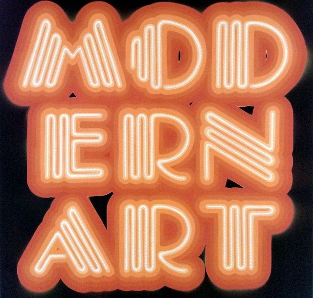, 'Modern Art- Neon Orange,' 2015, Rhodes