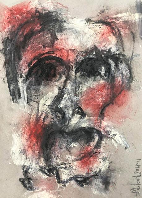 Phil, 'Red rouge chaos', 2018, Galerie Libre Est L'Art