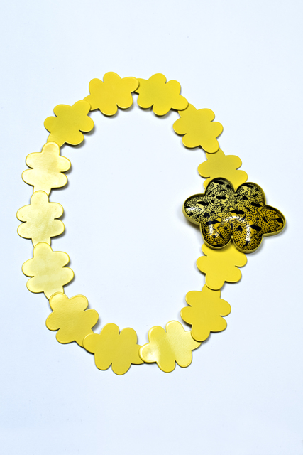 , 'Untitled (Yellow), Necklace,' 2017, The Gallery at Reinstein|Ross