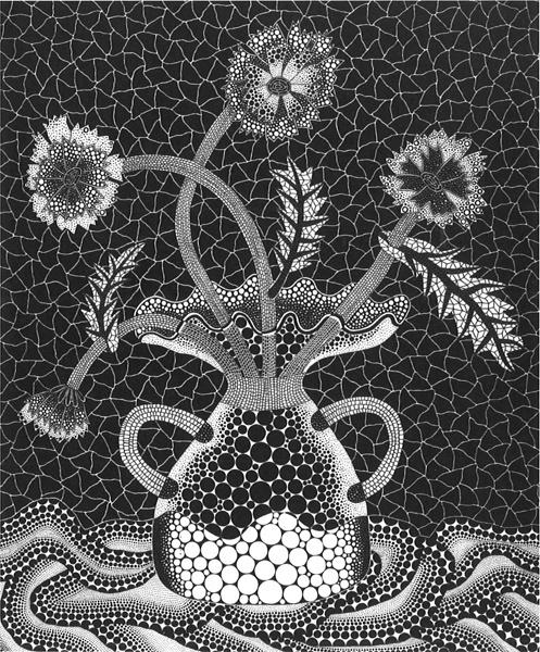 Yayoi Kusama, 'Flowers FW', 1993, Print, Screenprint, Upsilon Gallery