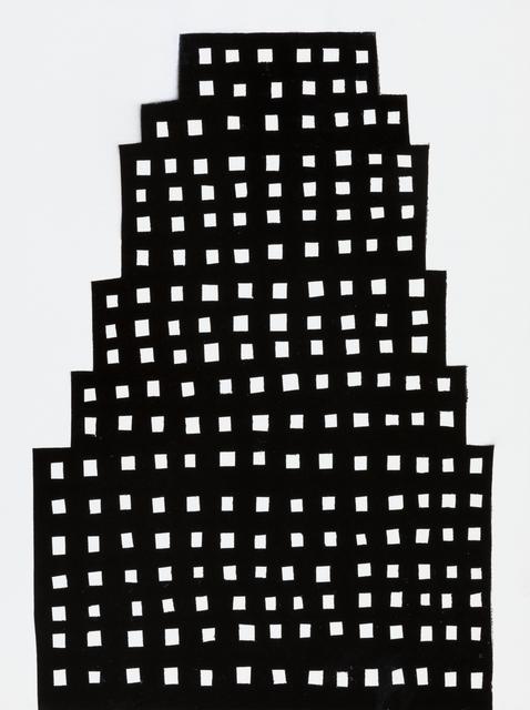 , 'NIGHT BUILDING 13,' 2018, Elizabeth Harris Gallery