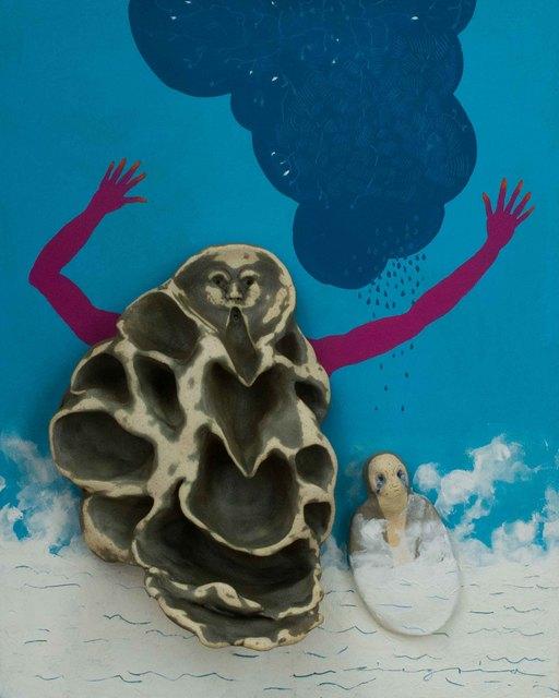 , 'Flotando en la bruma,' 2016, Lux Perpetua Art Centre