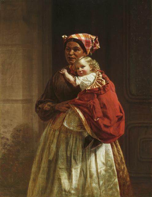 , 'Nurse and Child,' 1868, Debra Force Fine Art