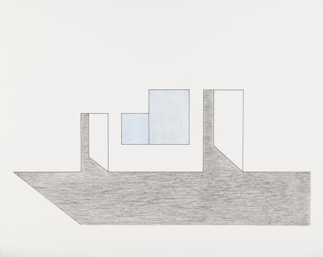 , 'Dessin à la règle,' 2014, Galerie Laurent Mueller