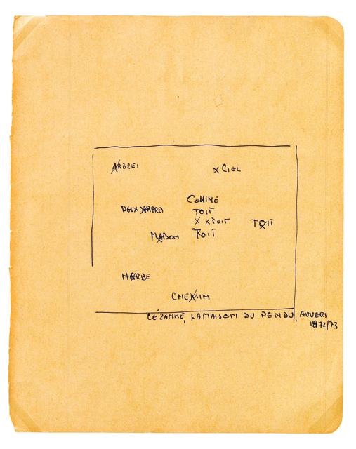 , 'Constitution d'un tableau, 27 esquisses perceptives, Gravures, 1963-1968,' 1990, Temporary Gallery