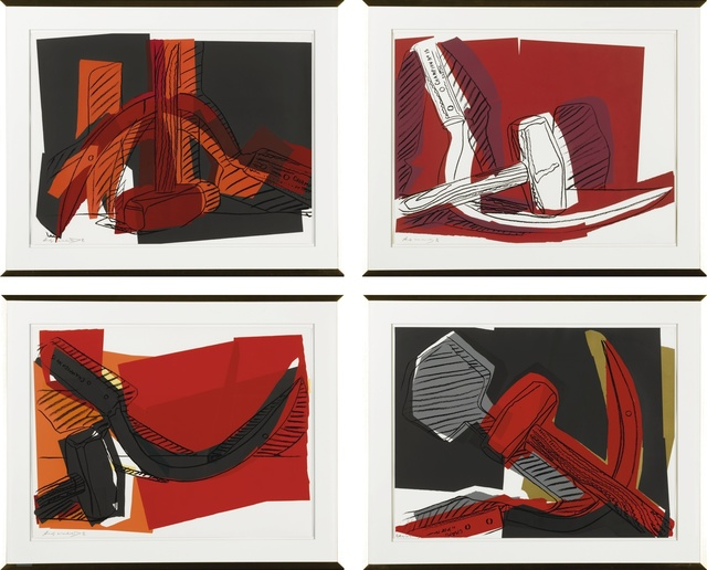 Andy Warhol, 'Hammer and Sickle (Feldman & Schellmann II.161-164)', 1977, Sotheby's