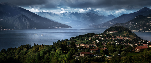 David Drebin, 'Escape to Lake Como', 2012, CHROMA GALLERY