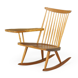 Lounge Chair Rocker with Arm