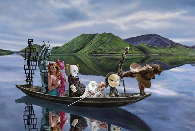 , 'The Eight Immortals Crossing the Sea 八仙过海,' 2018, Amy Li Gallery