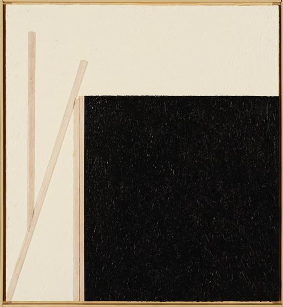 , 'Black Square on White Ground,' 2015, Gerald Peters Gallery Santa Fe