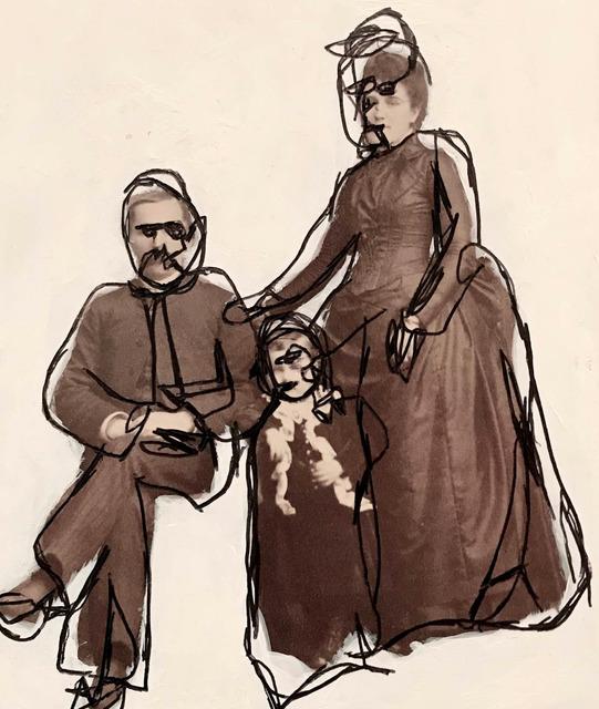 Johnny Thornton, 'E.W. Lyon and Family (Carson City)', 2019, Gagné Contemporary