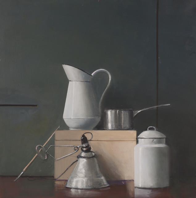 , 'Untitled (Still Life, White Pitcher, Silver Pot, Desk Lamp),' ca. 2002, Jason McCoy Gallery