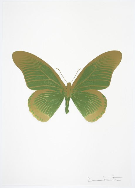 , 'The Souls IV - Leaf Green/Sunset Gold,' 2010, Paul Stolper Gallery