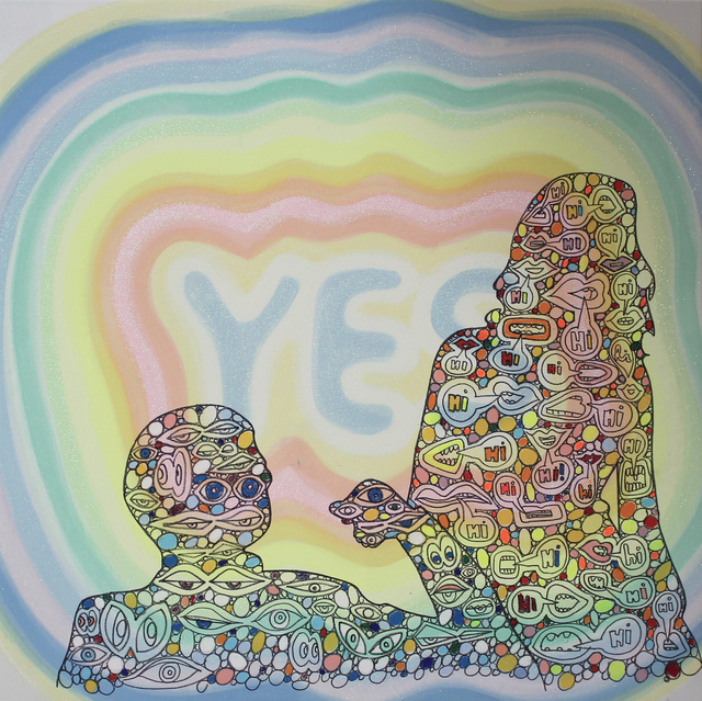 , 'Hi, Hi, Yes,' 2016, BLANK SPACE