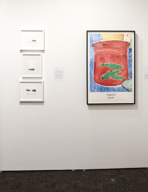 Eric Tillinghast, 'Village Green Motel', 2015, Painting, Acrylic on postcard, Richard Levy Gallery