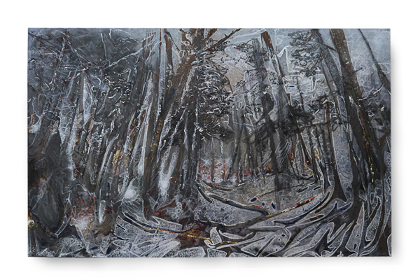 , 'Czarne làs,' 2016, Galerie Papillon