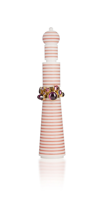 , 'Pink Delight Ringset,' , The Scottish Gallery