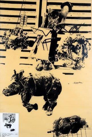 Vladimir Velickovic, 'Rhinocéros 6', Digard Auction