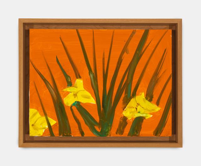 Alex Katz, 'Iris Study 7', 2019, Richard Gray Gallery