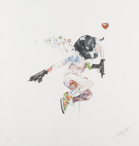 """Antony Micallef, 'ANTONY MICALLEF """"UZI LOVER 1"""" SIGNED & NUMBERED BY ARTIST', 2007, Arts Limited"""