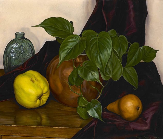 Luigi Lucioni, 'Still Life', 1948, Painting, Oil on canvas, Gerald Peters Gallery