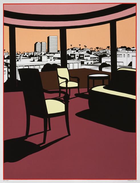 Ken Price, 'Western                      Sunset', 1993, Gemini G.E.L. at Joni Moisant Weyl