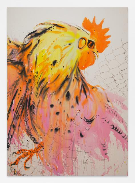 , 'Untitled (Rooster),' 2018, DITTRICH & SCHLECHTRIEM