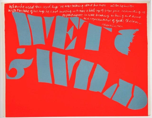 Corita Kent, 'wet and wild', 1967, Feuer/Mesler