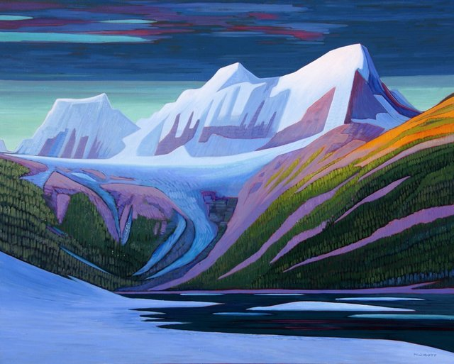 , 'Dawn Thunder Mountain - Near Bella Coola,' 2018, Madrona Gallery