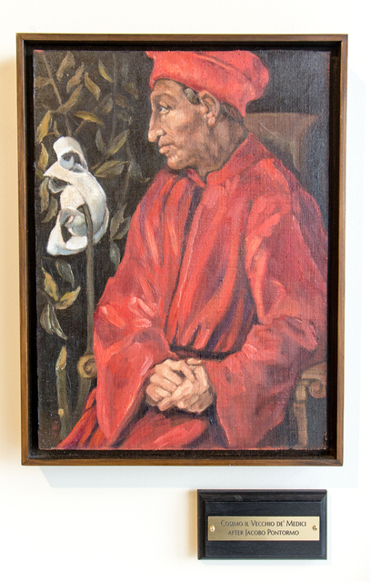 , 'Cosimo il Veccio de' Medici, after Jacobo Pontormo,' 2017, Untitled 2.0
