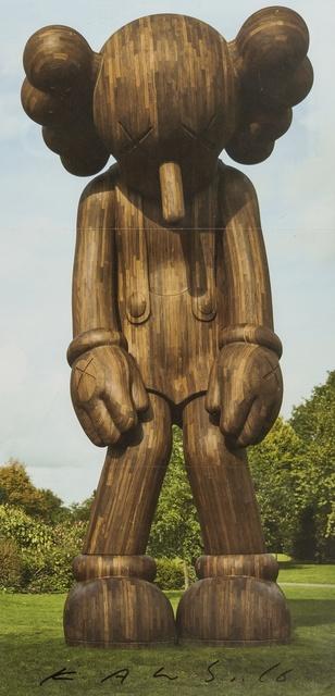 KAWS, 'A signed invitation to 'KAWS: Yorkshire Sculpture Park'', 2016, Forum Auctions