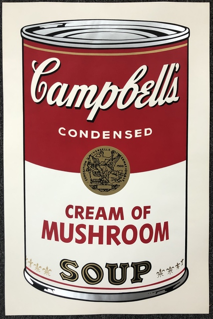 Andy Warhol, 'Campbell's Soup I: Cream of Mushroom', 1968, DANE FINE ART