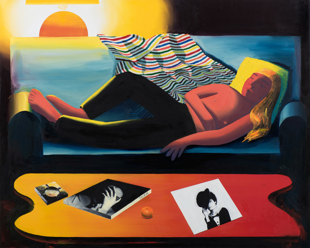 , 'Just Sleeping,' 2017, Moskowitz Bayse