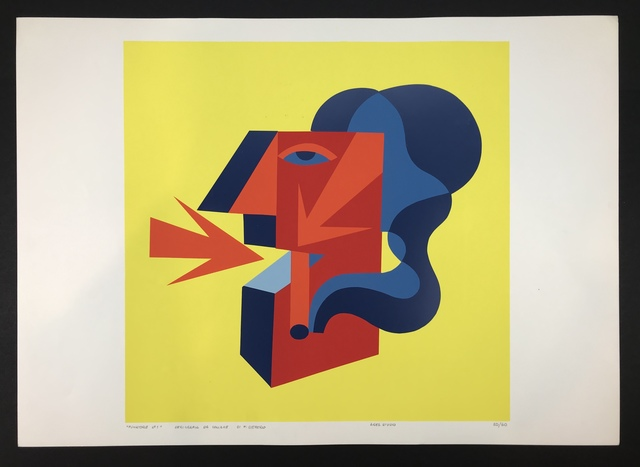 Fortunato Depero, 'Untitled ', ca. 1970, Print, Serigraphy on paper, Gutan Art Gallery
