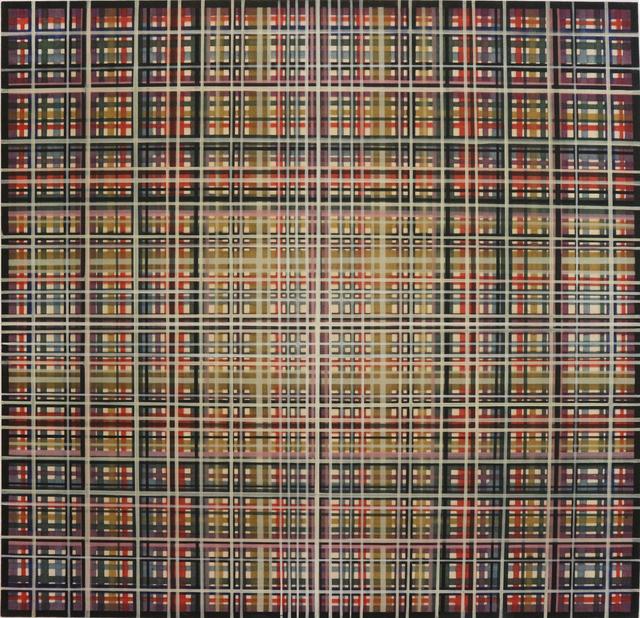 , 'Sin Título. América Cruzados,' 1970, Fernando Pradilla/El Museo