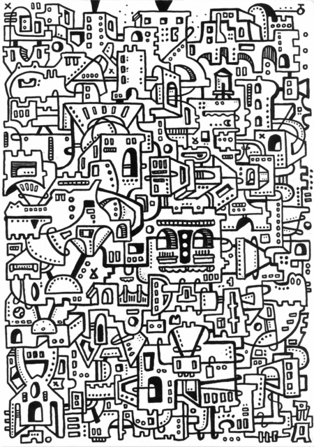 , 'Gator Labyrinth,' 2017, The Directed Art Modern