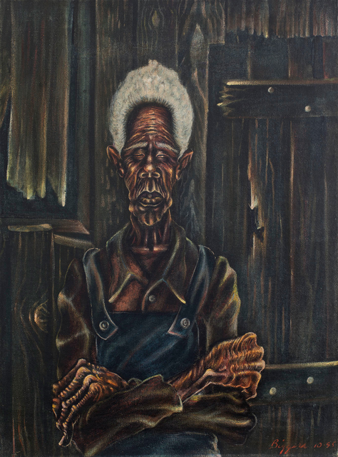 , 'Sharecropper,' 1945, Michael Rosenfeld Gallery