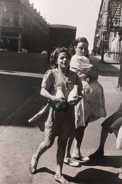 Helen Levitt, 'Untitled (Girls with milk bottles)', 1945, G. Gibson Gallery