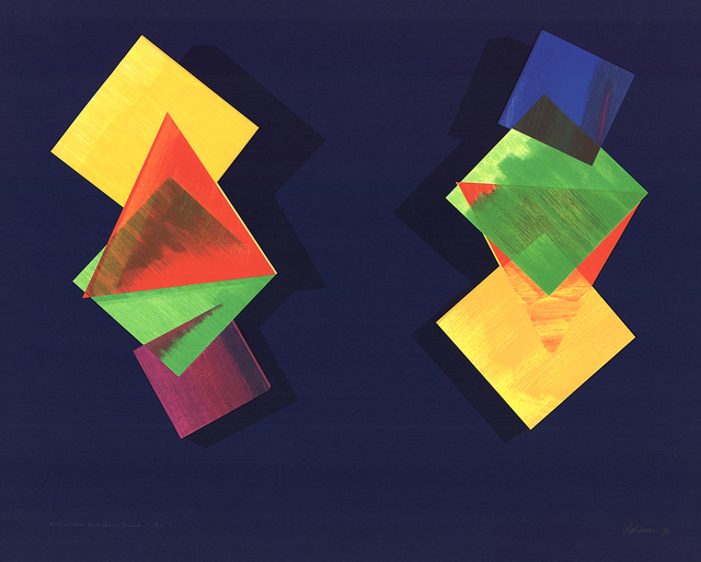 , 'Mozart and Mozart Upside Down and Backwards,' 1993, ArtWise
