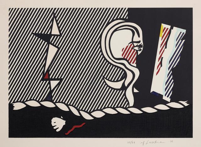 Roy Lichtenstein, 'Figures with Rope, from Surrealist Series', 1978, Phillips