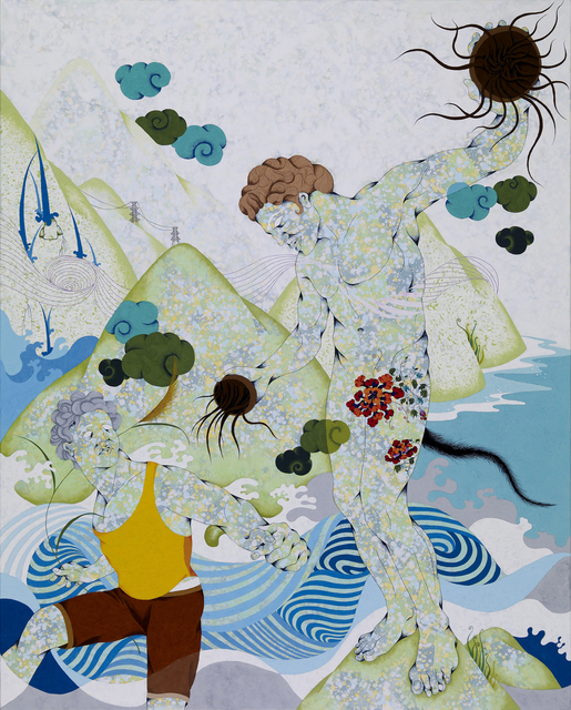 Chien-Chiang Hua, 'Jellyfish and Miscanthus', 2010, Aki Gallery
